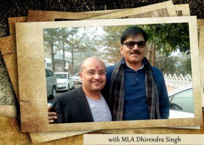 MLA Dhirendra Singh